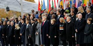 World Leaders in Paris a Century After World War 1 Armistice