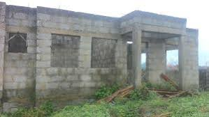 Uncompleted building